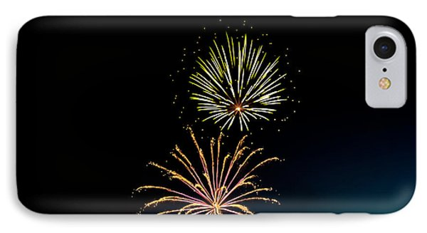 Double Fireworks Blast Phone Case by Robert Bales