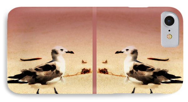 Double Gulls Collage Phone Case by Susanne Van Hulst