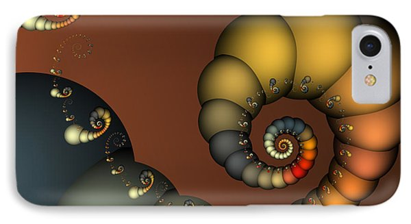 Double Loop IPhone Case by Karin Kuhlmann