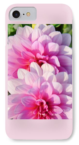 Double Pink Phone Case by Kathleen Struckle