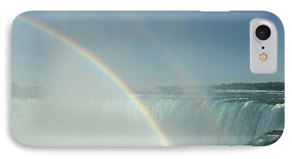 IPhone Case featuring the photograph Double Rainbow by Brenda Brown