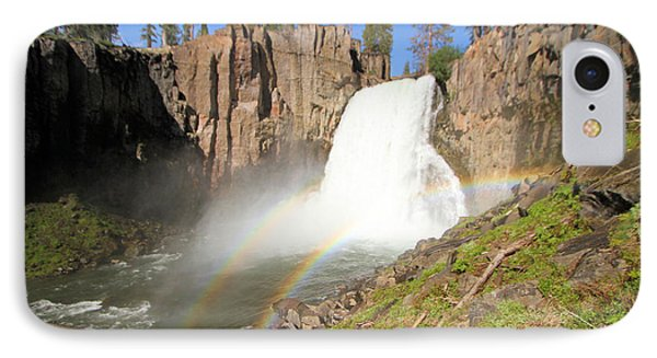 Double Rainbow Falls IPhone Case by Adam Jewell