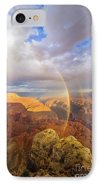 Rainbow Kanab Pt Grand Canyon IPhone Case by Yva Momatiuk John Eastcott