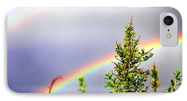 Double Rainbow Sky Phone Case by Destiny  Storm
