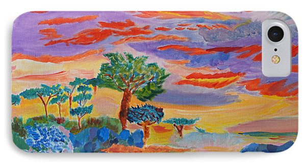 Candy Coated Monterey Sunset IPhone Case by Meryl Goudey