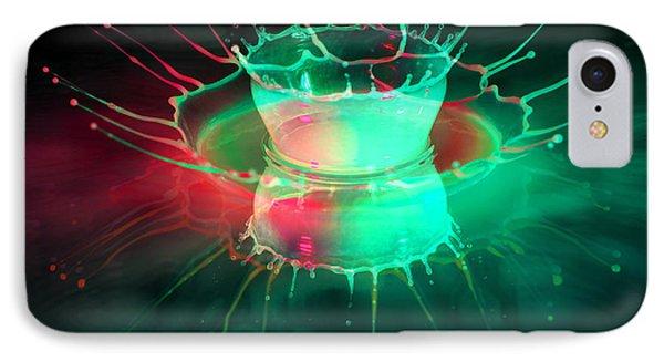 Double Splash IPhone Case by Jaroslaw Blaminsky