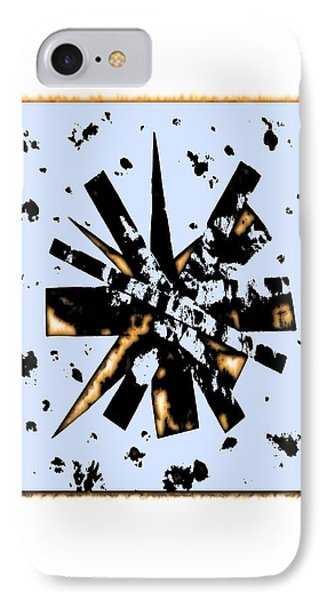 Double Star Collage IPhone Case