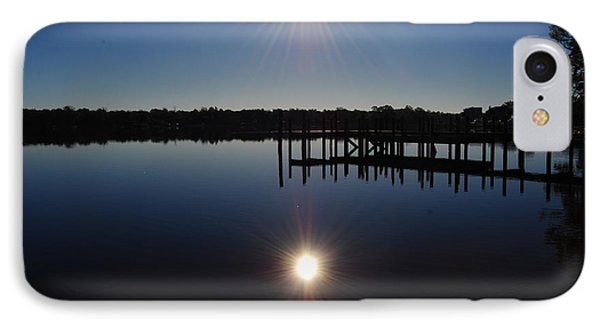 IPhone Case featuring the photograph Double Sun by Michele Kaiser