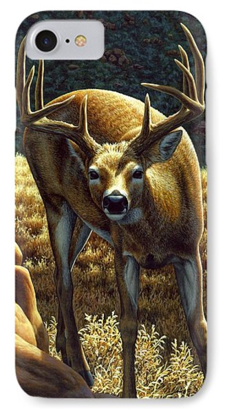 Whitetail Buck - Double Take IPhone Case