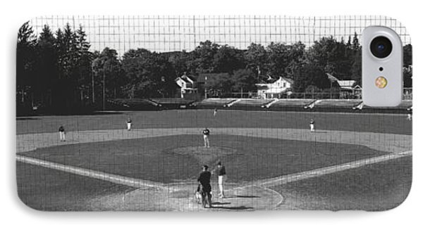 Doubleday Field Cooperstown Ny IPhone Case by Panoramic Images