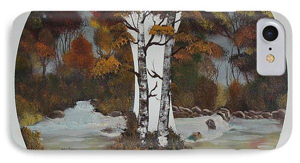 Doubling The Autumn Splendor Phone Case by Bob Williams