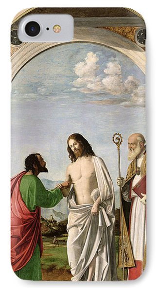 Doubting Thomas With St. Magnus IPhone Case