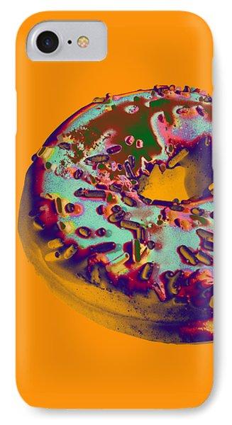 Doughnut IPhone Case by Jean luc Comperat