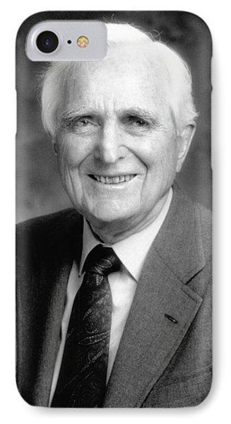 Douglas Engelbart IPhone Case by Emilio Segre Visual Archives/american Institute Of Physics