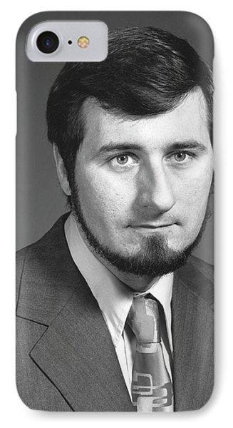 Douglas Osheroff IPhone Case by Emilio Segre Visual Archives/american Institute Of Physics