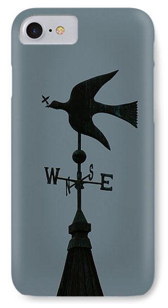 Dove Weathervane Phone Case by Ernie Echols