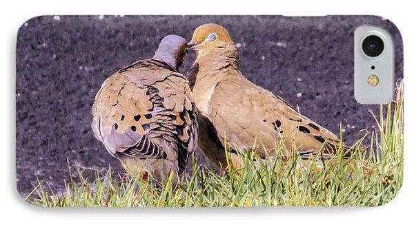 Doves Kisses Phone Case by Zina Stromberg