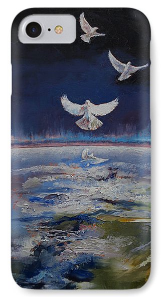 Doves IPhone 7 Case by Michael Creese