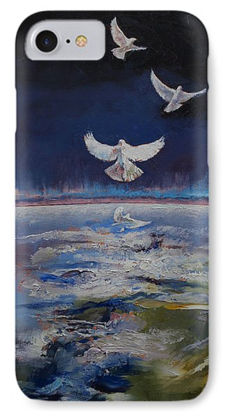Doves IPhone Case by Michael Creese