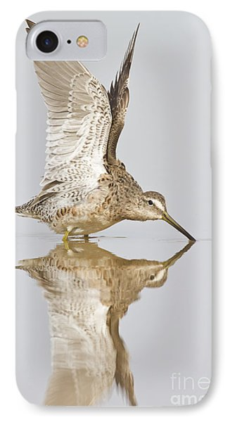 Dowitcher Wing Stretch Phone Case by Bryan Keil