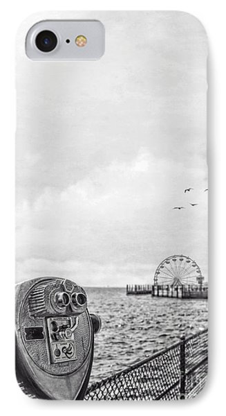 Down At The Pier Phone Case by Edward Fielding