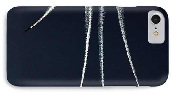 Down Burst Phone Case by Kevin Fortier