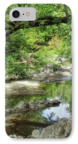 Down By The Creek Phone Case by Donna Blackhall