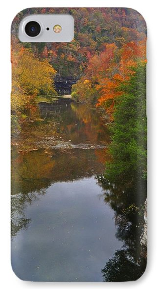 Down From Ponca Phone Case by Marty Koch