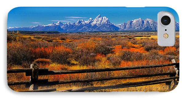 Down In The Valley IPhone Case by Greg Norrell