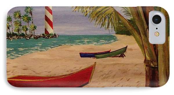 Down Jamaica Way IPhone Case by Mike Caitham