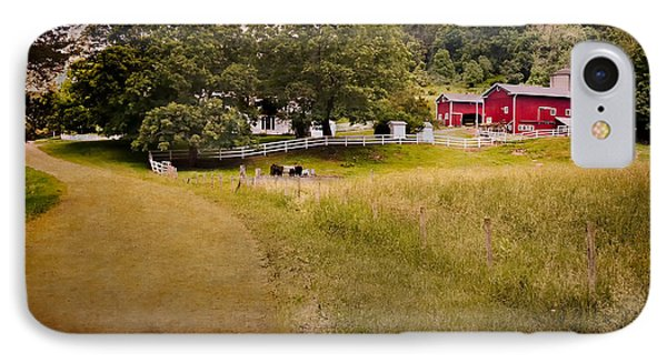 Down On The Farm IPhone Case by Bill Wakeley