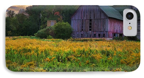 Down On The Farm II IPhone Case by John Crothers