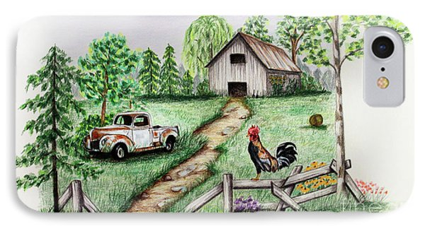 Down On The Farm Phone Case by Lena Auxier