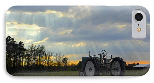 Down On The Farm IPhone Case by Mike McGlothlen