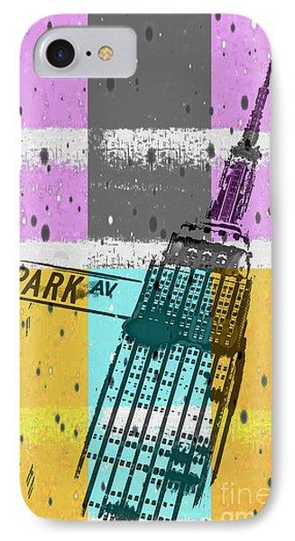 Down Park Av IPhone Case by Az Jackson