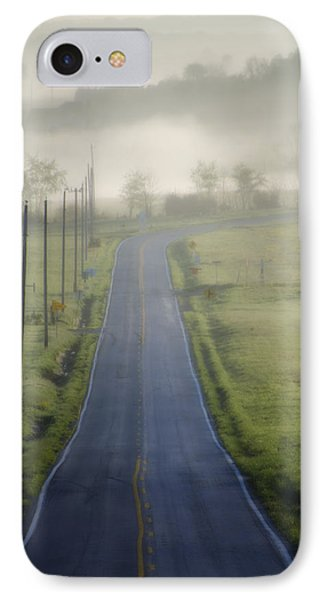 Down Roads Unknown Phone Case by Bill Cannon
