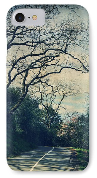 Down That Path Phone Case by Laurie Search