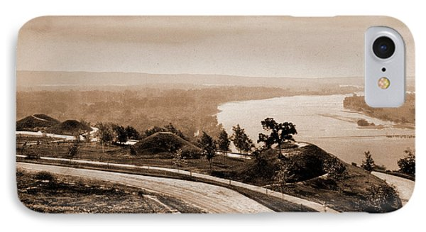 Down The Mississippi From Indian Mound Park IPhone Case by Litz Collection