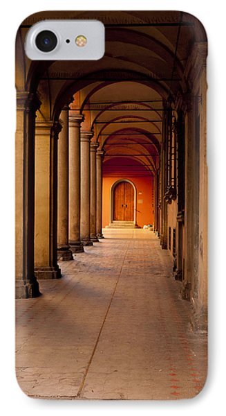 Down The Portico Phone Case by Rae Tucker