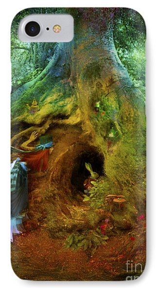 Down The Rabbit Hole IPhone Case by Aimee Stewart