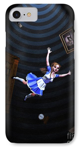 Down The Rabbit Hole IPhone Case by Methune Hively