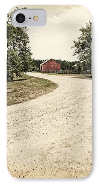 Down The Road Phone Case by Margie Hurwich