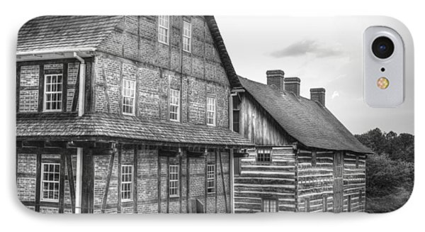 Down The Street In Old Salem Phone Case by Diego Re