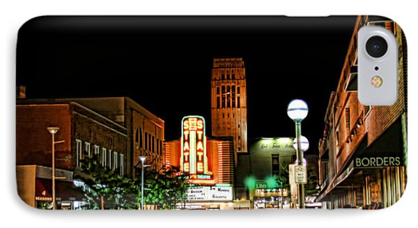 Downtown Ann Arbor IPhone Case by Pat Cook