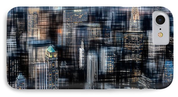Downtown At Night Phone Case by Hannes Cmarits