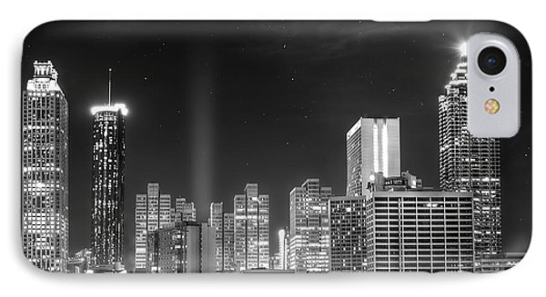 Downtown Atlanta Skyline IPhone Case by Mark Andrew Thomas