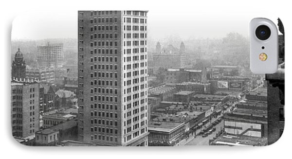 Downtown Birmingham IPhone Case by Underwood Archives