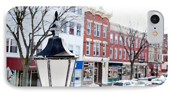 IPhone Case featuring the photograph Downtown Brockport I by Courtney Webster