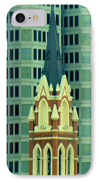 Downtown Dallas Phone Case by Janette Boyd