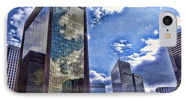 IPhone Case featuring the photograph Downtown Dallas by Kathy Churchman